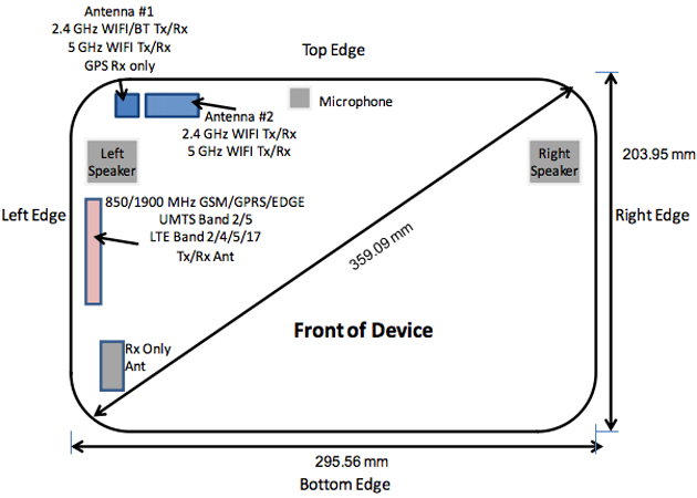 Samsung Galaxy Note Pro 12.2 at the FCC with AT&T LTE