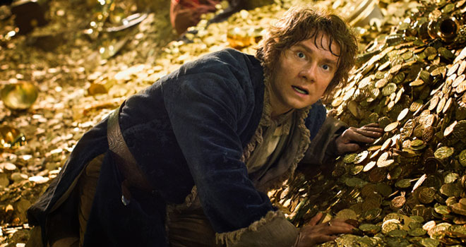 Martin Freeman in 'The Hobbit: The Desolation of Smaug'