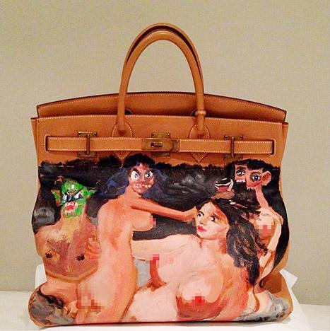 Kim Kardashian's Hermes Birkin bag