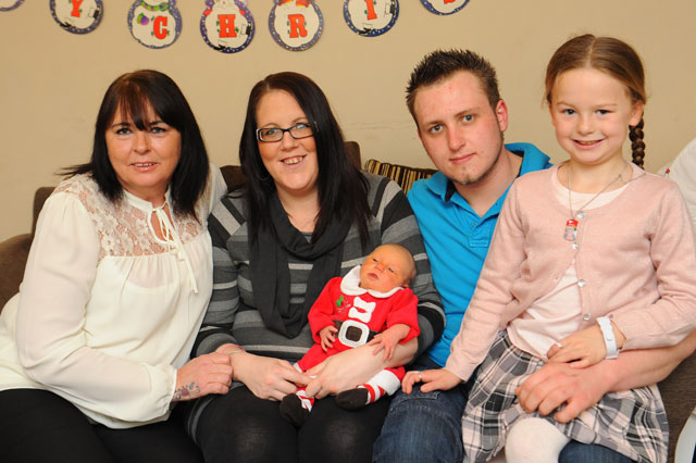 Grandmother delivers baby on Christmas Day