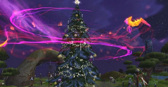 Phoenix and Winter Veil tree