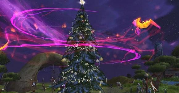 Phoenix and Winter Veil tree