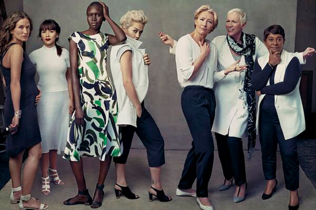 Marks and Spencer leading ladies campaign 2014