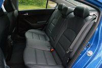 2014 Kia Forte rear seats