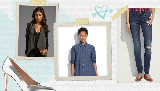 From a basic tee to Alexander Wang: Check out Katia's closet essentials
