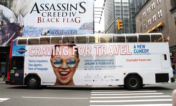 Off-Broadway Comedy 'Craving for Travel' Showcases Travel Agents Trying to do the Impossible