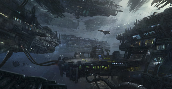 Star Citizen's Spider concept art