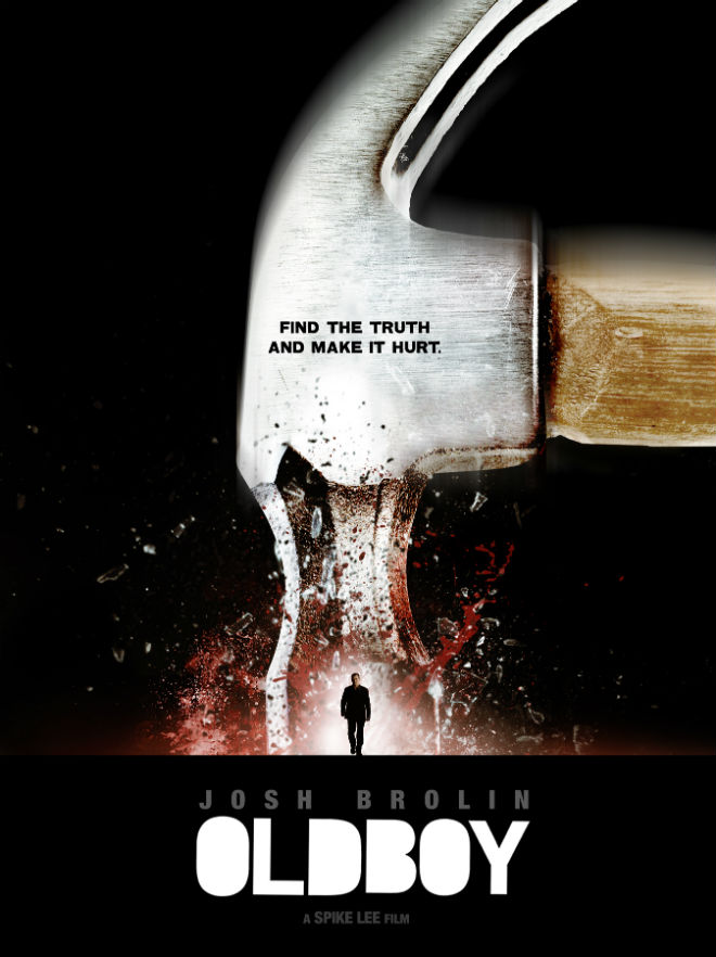 oldboy 2013 alternate poster