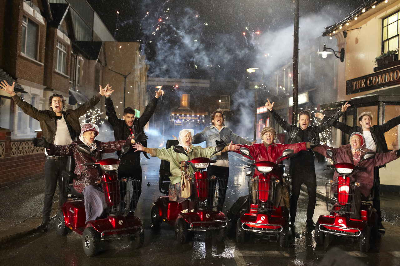 One Direction Midnight Memories music video