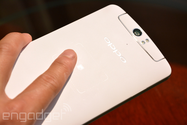 Oppo N1's O-Touch trackpad