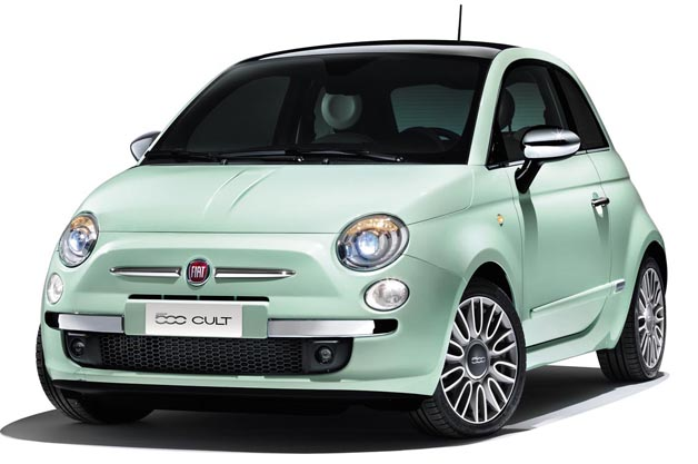 Fiat updates Euro-spec 500 with new equipment, Cult trim