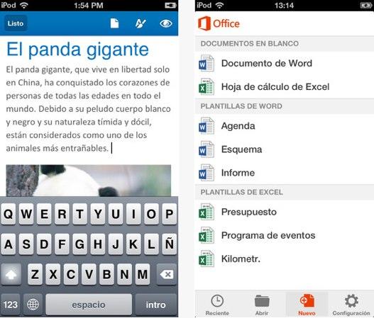 Office para iPad sigue su curso y llegaría durante la primera mitad de 2014