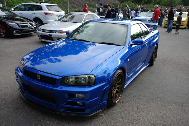 A Skyline GT-R driven by Paul Walker in Fast and Furious is up for sale in Germany.