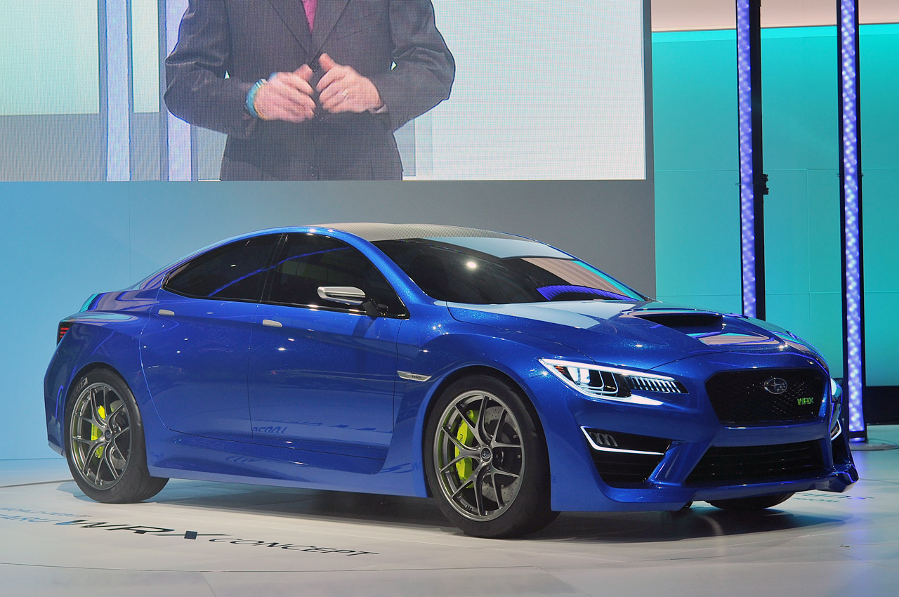 Subaru confirms 2015 WRX STI to grace Detroit show stand