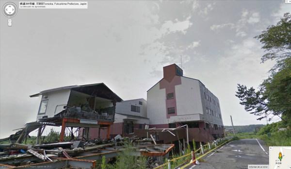 Google Street View amplía su cobertura de Fukushima con nuevas y fantasmagóricas vistas
