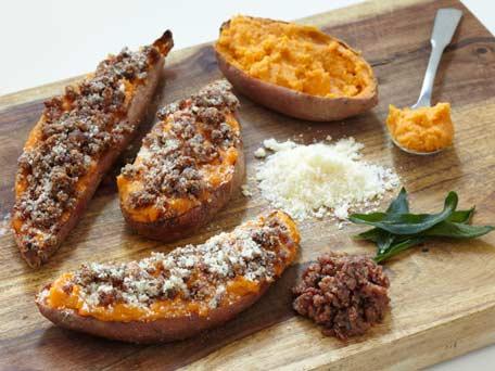 SodaHead.com - Twice Baked Sweet Potatoes