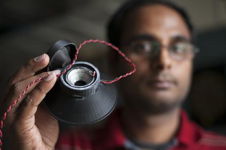 Este altavoz fue totalmente impreso en 3D, imán incluido