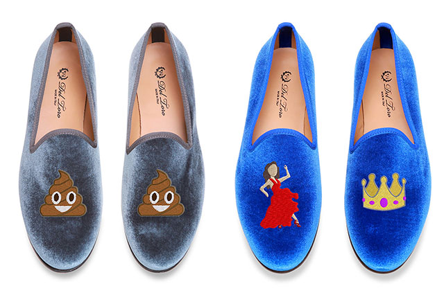 emoji loafers