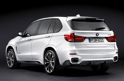 BMW X5 with BMW M Performance Parts