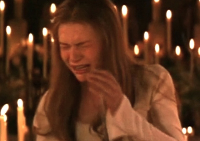 Claire Danes cry face Romeo And Juliet
