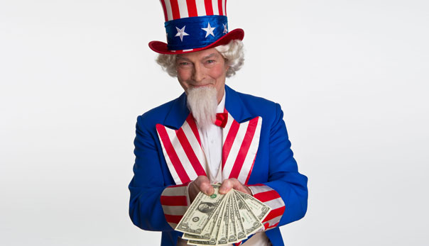 BJH215 Uncle Sam. Image shot 2010. Exact date unknown.