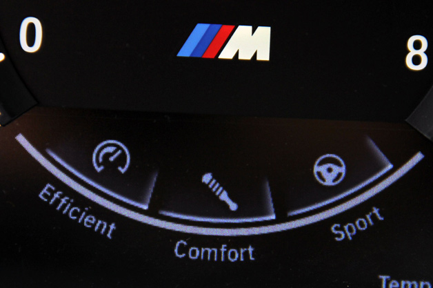BMW M driving settings