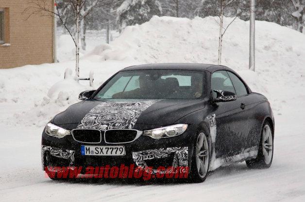 【レポート】BMW「M4カブリオレ」がグッドウッドでの初公開に向けて準備中?
