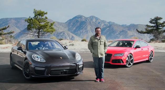 Motor Trend: Porsche Panamera Turbo vs. Audi RS7