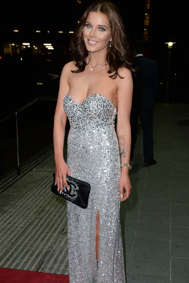 Helen Flanagan Goes All Sparkly At The Mirror Ball