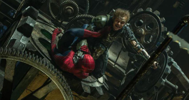 amazing spider-man 2 green goblin