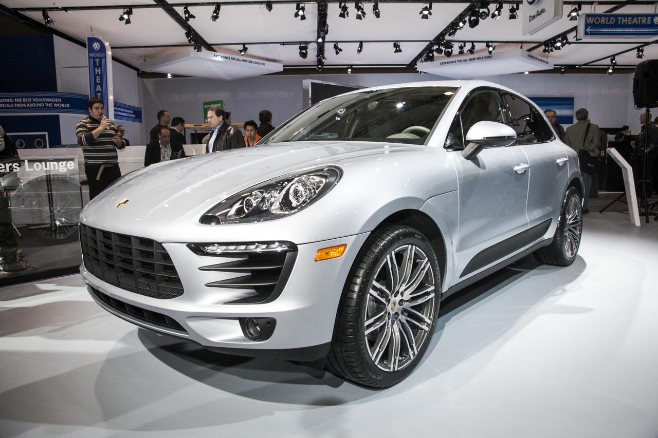 Porsche Macan Makes Canadian Debut At 2014 Toronto Auto