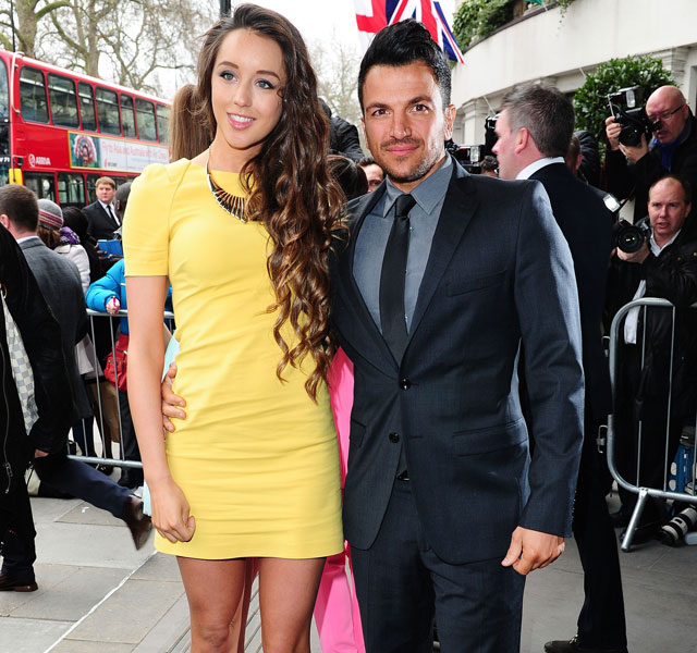 Peter Andre and fiancee Emily MacDonagh