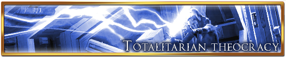 Totalitarian theocracy