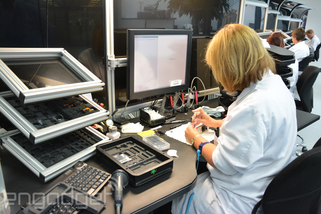 Visualized: Inside the Vertu workshop, where phones are made by hand (video)