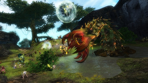 Jungle wurm (official ArenaNet screenshot)