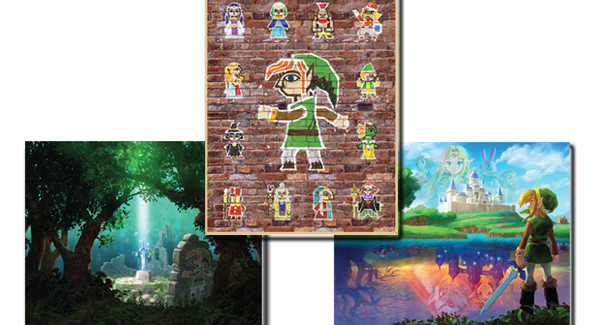 Gorgeous Zelda Posters Available At Club Nintendo