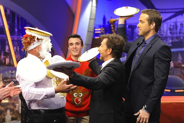 51273161 'The Captive' actor Ryan Reynolds visits the Spanish TV show