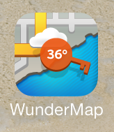WunderMap, weather app, icon, app store, app