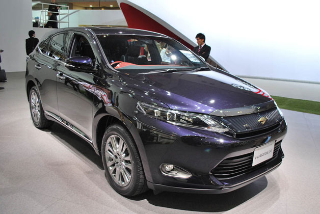 New Toyota Harrier revealed at 2013 Tokyo Motor Show