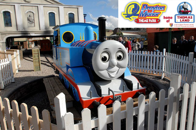 WIN a family pass to Drayton Manor Theme Park competition
