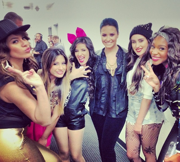 Demi Lovato and Fifth Harmony