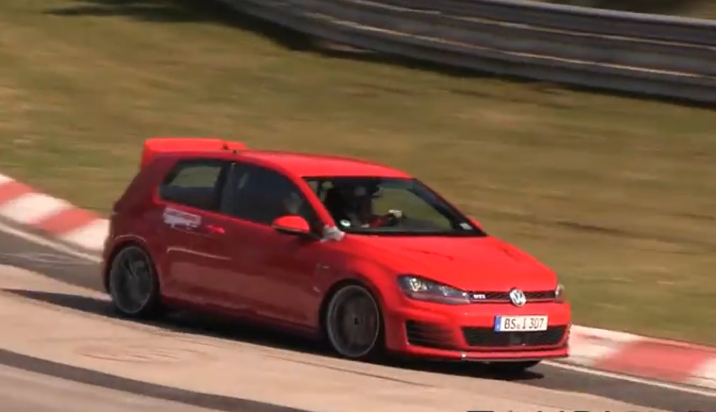 VVW GTI, club sport, video, erlkönig, spy shot, GTI Performance, VW Golf VII, VW Golf 7, Nürburgring,