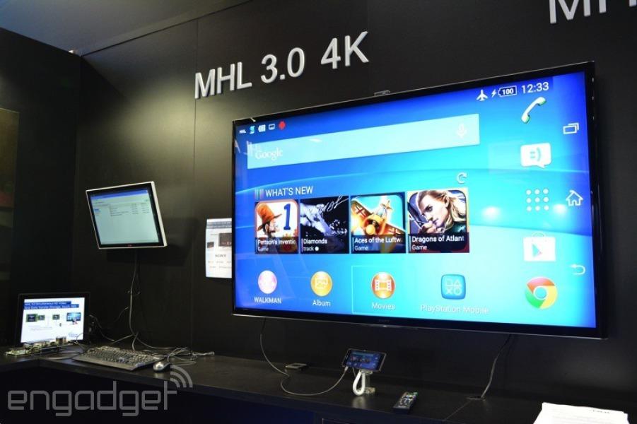 MHL 3.0 demuestra lo que sabe: vídeo 4K, 10 W de carga y transferencia de datos por el mismo cable
