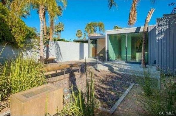 leonardo dicaprio palm springs house