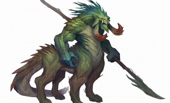 Genasaur - from Blizzcon Concept Art