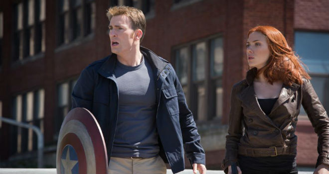 weekend box office captain america the winter soldier