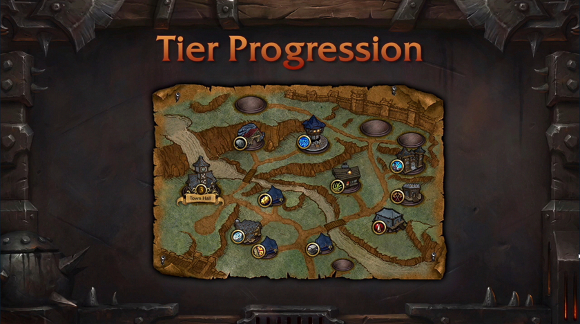 Garrison tier progression