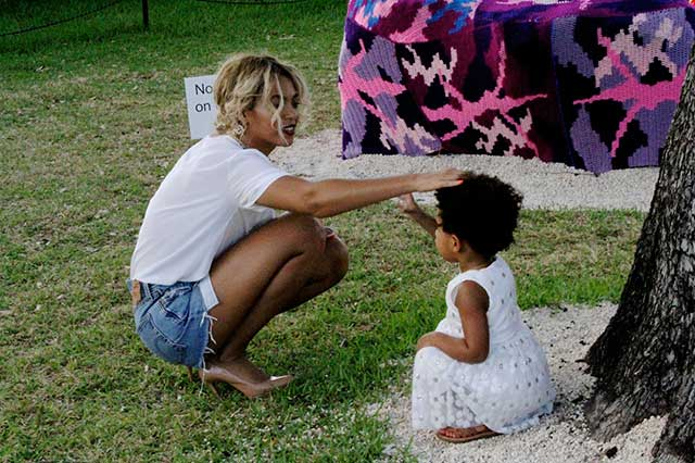 beyonce reveals blue ivy has a lamborghini and a pink