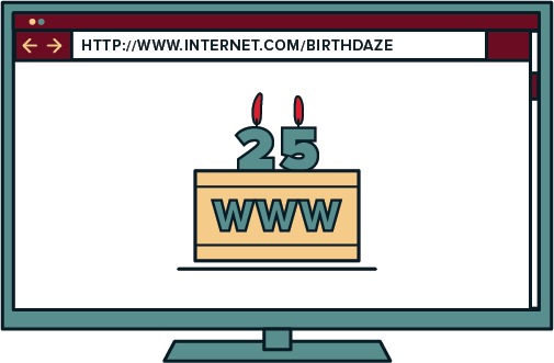 This list is brought to you by 25 years of the world wide web