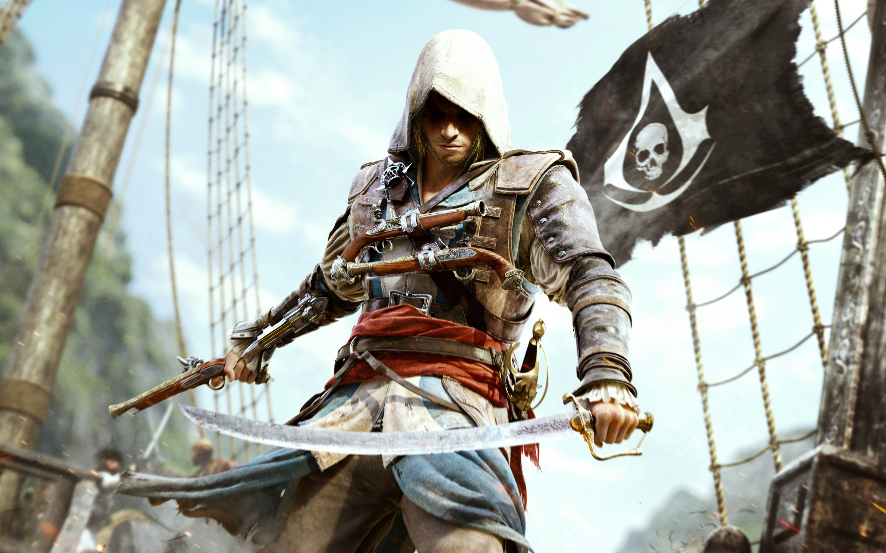 How to Lower Your Wanted Level in Assassin's Creed 4